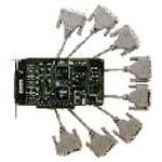 MOXA C218T(8串口智能卡+8串口RS232盒) 多用户卡/MOXA