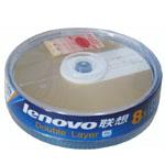 联想DVD+R DL 8速 香槟金(10片装) 盘片/联想