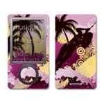 冠犀ideaSkin 微软 Zune 30GB 个性皮肤 夏威夷落日冲浪 数码配件/冠犀