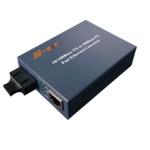N-net 10/1000M单模收发器(电源外置式)