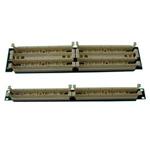 威图19英寸机架型100对配线架(LU-T200L) 综合布线/威图