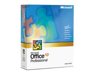 微软Office XP(中文标准版) 办公软件/微软