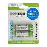 圣奇仕1800毫安5号镍氢充电电池(2粒) 电池/圣奇仕