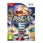 Wii游戏无敌风火轮赛车 第五战队 游戏软件/Wii游戏
