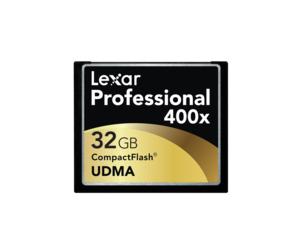 雷克沙400x CF卡(32GB)图片