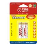 龙威盛2节AA镍氢电池 2800mAh 电池/龙威盛