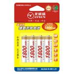 龙威盛4节AA镍氢电池 1800mAh 电池/龙威盛