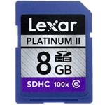 雷克沙白金二代 SDHC 100x(8GB) 闪存卡/雷克沙