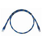 腾达出口型六类非屏蔽跳线(带防拉伸抗磨损护管)1米TD2020-1CK 综合布线/腾达