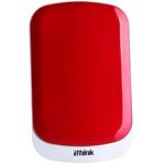 Ithink B52(750GB/USB3.0)(活力红) 移动硬盘/Ithink