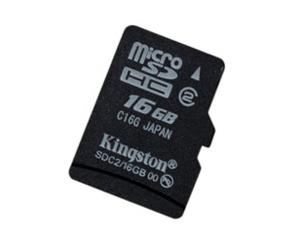 金士顿MicroSDHC Class2(16GB)图片