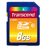 创见CLAASS10 SDHC(8GB) 闪存卡/创见