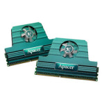 宇瞻2GB DDR3 1800(双通道套装捷豹风神系列) 内存/宇瞻
