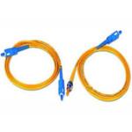 D-Link SC-FC单模双芯光纤跳线/5米/黄(DFPCS1SCFC05) 光纤线缆/D-Link