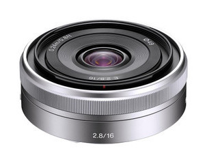 【索尼E 16mm f\/2.8(SEL16F28)】(Sony E 16