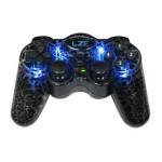 蓝正 J6 黑豹 PC无线双振动双3D手柄 游戏周边/蓝正