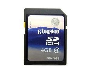 金士顿SD4卡(4GB)图片