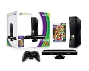 微软Xbox360 slim Kinect套装(640GB)图片