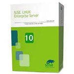NOVELL SUSE Linux Enterprise Server 10(16CPU 24×7服务 3年升级) 操作系统/NOVELL