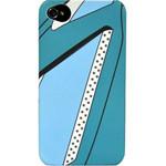 迪思拜尔iPhone4/4S 高尔夫系列磨砂保护套(深邃蓝) 苹果配件/迪思拜尔