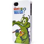 迪士尼IPH4030607WD 鳄鱼爱洗澡-躲猫猫(白色) 苹果配件/迪士尼