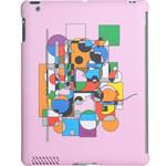 迪士尼IPA2030423WD iPad2专用米奇迷宫保护壳 (粉) 苹果配件/迪士尼