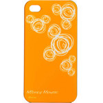 迪士尼IPH4030663WD 花样米奇(超溥款)保护壳 橙 苹果配件/迪士尼
