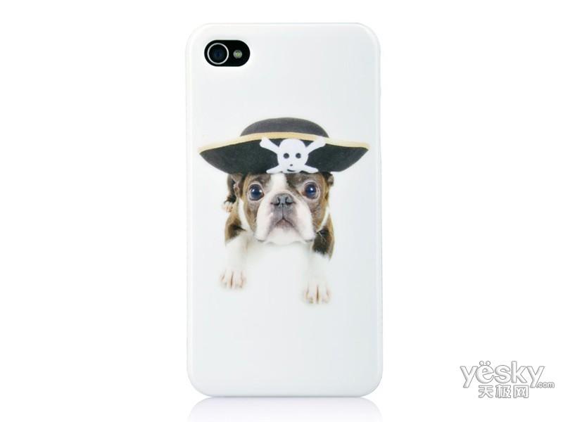 【图】珂玛iphone4/4s超萌可爱宠物狗手机保护背壳