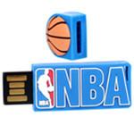 NBA 经典软胶IT01012(32GB)蓝色 U盘/NBA