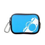 包包大人时尚数码相机包(蓝色) 数码配件/包包大人
