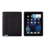 摩仕Origo for iPad2 蜂窝状减震硅胶套 炭墨黑 苹果配件/摩仕