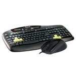 达尔优K507(PS/2)+TM099(PS/2)预压手感Ⅱ游戏键鼠套装 键鼠套装/达尔优