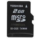 microSD Class4(2GB)/SD-C02GR7W4