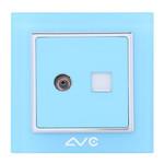 LVC 电脑/电视插座LVC6502C 电源设备/LVC