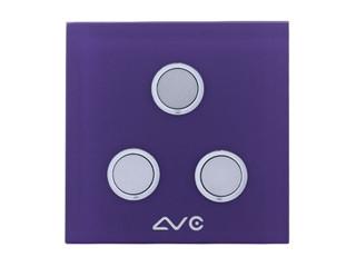 LVC 智能双模照明开关三键LVC8603B图片