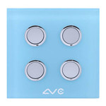 LVC 如意贴开关四键LVC8804A