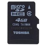 东芝MicroSDHC Class4(4GB)/SD-C04GR7W4