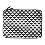 黑贝壳笔记本内胆包 黑白三角-12.1寸 笔记本包/黑贝壳