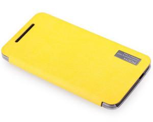 洛克 HTC One M7新款雅系列侧翻皮套图片