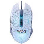 达尔优牧马人WCG白色版游戏鼠标 鼠标/达尔优