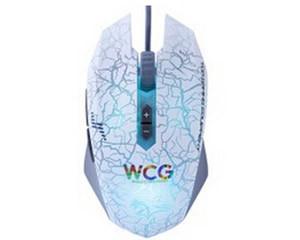 达尔优牧马人WCG白色版游戏鼠标