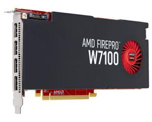 AMD FirePro W7100图片