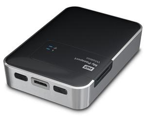 西部数据My Passport Wireless 1TB(WDBK8Z0010BBK)