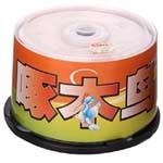 啄木鸟DVD-R光盘50片装(白系列/每片) 盘片/啄木鸟