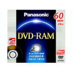 松下 DVD-RAM(单片装LM-AF60Q) 盘片/松下