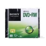 索尼 DVD+RW 4速 4.7G(单片盒装) 盘片/索尼
