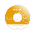 铼德 六色片 黄色 52速 CD-R(50片装桶装) 盘片/铼德