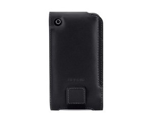 iPhone3GS上翻盖牛皮套(黑) F8Z462qe