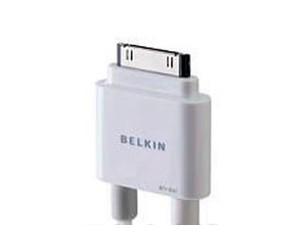 贝尔金iPod/iPhone 视频/音频传输线 F8Z361qe06