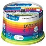 威宝彩虹系列DVD+R 16速 4.7G(50片桶装) 盘片/威宝